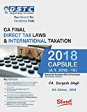 Capsule Studies on DIRECT TAX LAWS & International Taxation (A.Y. 2018-19) by CA. DURGESH SINGH