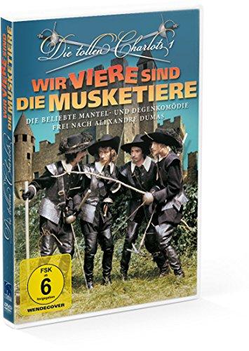 Die tollen Charlots 1: Wir viere sind die Musketiere