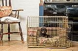 Lords & Labradors Hunter Balmoral Tweed Bumper Set con una caja Ellie-Bo (incluye un ratón, un parachoques y un cojín)
