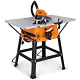 "VonHaus 1800W 10"" (250mm) Table Saw with 5500rpm Underframe - Circular Mitre Function"