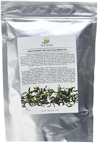 Tea Soul White Monkey (Bai Hao Hou) Premium Lose Blatt Grüner Tee, 1er Pack (1 x 50 g)