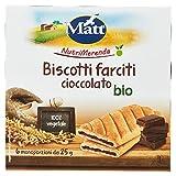Matt Nutrimerenda Biscotti Farciti Cioccolato Bio - 150 gr