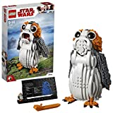 LEGO 75230 Star Wars Ahch-To Sea-Dwelling Bird Figure, Porg Construction Set, Model with Display Stand, The Last Jedi Collection