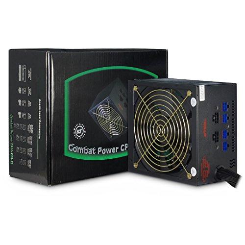 CPM 750 Watt II modulares ATX GAMER PC Netzteil mit Kabelmanagement leise durch 135mm Lüfter 8x Sata 2x PCIe mit flexiblen Flachbandkabeln (Stromversorgung 700)