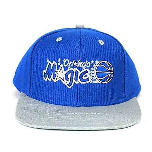 NBA Orlando Magic Blue Gray 2 Tone Retro Snapback Cap Orlando Magic Snap