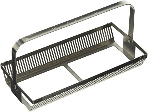 Wheaton Science Products 900404 50-Slide Stainless Steel Rack with Handle Attached (Pack of 3)