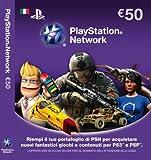PS3, PSP - PSN Card Sony 50 Euro