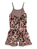 Scotch & Soda R´Belle Mädchen Latzhose Drapey Woven Print Mix Playsuit with Ruffles Mehrfarbig (Combo H 587), 140 (Herstellergröße: 10)