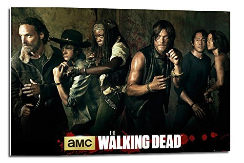 The Walking Dead Season 5 Poster Cast Float – 90 x 60 cm (ca. 91,4 x 61 cm) Bilder Von The Walking Dead Cast