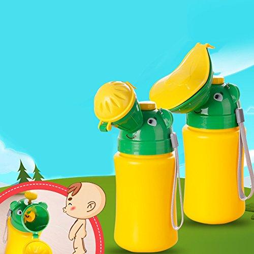 SparY, vasino Portatile da Viaggio per Bambini e Bambine, Yellow+Green, Boys