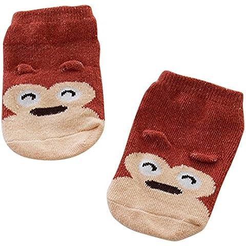 ESHOO Bambino infantili Stampa animale caviglia Warm Socks