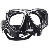 Scubapro Synergy-Twin-Masque de plongée-Homme-Noir/Noir