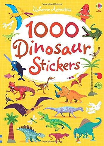 1000 Dinosaur Stickers (1000 Stickers)