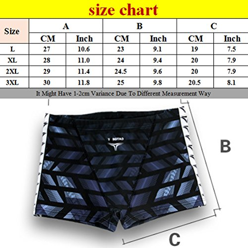 Zhhlaixing Fashion Mens Flat Swim Pants Swimwear Summer Beach Swimming Shorts 3320 Gray