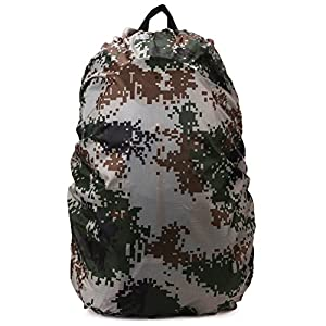 51lcWEEUwZL. SS300  - HugeStore 70L Waterproof Camping Hiking Rucksack Bag Rainproof Cover for Backpack Hot Pink