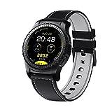 Smart Uhr Unterstützung Herzfrequenz Monitor Bluetooth Smart Watch für Apple Huawei IOS Android Phone