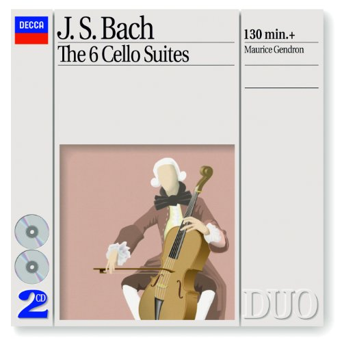 J.S. Bach: Suite for Cello Solo No.2 in D minor, BWV 1008 - 3. Courante