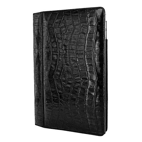 Piel Frama 695CO Case Folio Style Lederschutzhülle Crocodile für Apple iPad Air 2 in schwarz (Tasche Piel 2)
