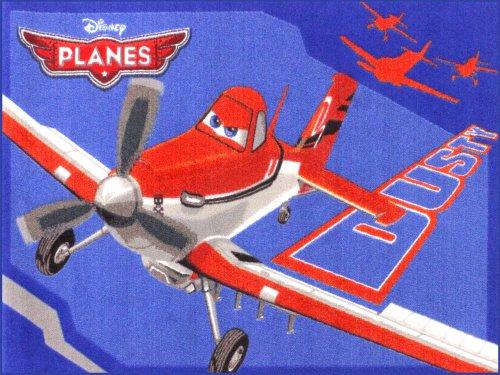 Planes Flugzeug Teppich Kinderteppich   Spielteppich 95x133 cm P01