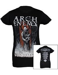 Arch Enemy, Girlie Frauen T-Shirt, War Eternal Tour 2014