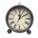 Best Vintage Alarm Clocks - Classic Retro Desk Clock, SAYTAY European Style Vintage Review