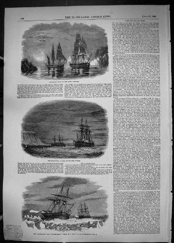 Versendet Unternehmens-Forscher 1849 die Straßen-Arktische Regionen der Eis-Karren