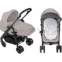 Inglesina Zippy Light - Kit de cochecito para recién nacido, color beige