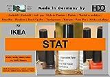 Farbstift Retuschierstift IKEA Front STAT WEISS
