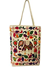 Kutch Traditional Jhola Bag,elephant Design Embroidered Sling Bag,valentine Gift For Her