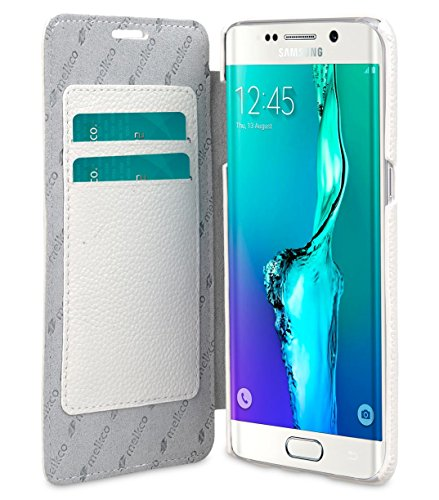 Melkco 4895158681593 Face Buch Typ Premium Ledertasche Schutzhülle für Apple iPhone 6 11,9 cm (4,7 Zoll) lila White LC 3