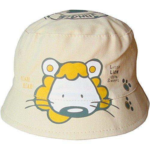 Bañador para bebé y niñas diseño de León Unisex Safari con forma de cubo Summer gorro de diseño...