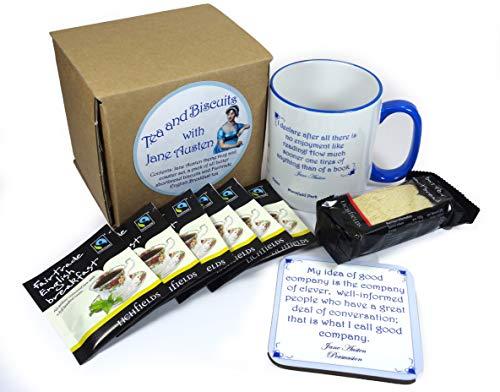 Set de té y galletas con Jane Austen