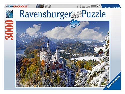 Ravensburger-17062-Schlo-Neuschwanstein-im-Winter Ravensburger 17062 – Schloß Neuschwanstein im Winter -