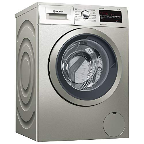 WAT2840SGB Serie 6 9KG Washing Machine with 1400rpm Spin Speed in Silver