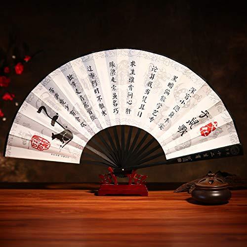 Ratte Kind Kostüm - XIAOHAIZI Handfächer,Sommer Bambus Fan Zodiac Ratte Retro Chinesischen Stil Männer Geschenk Faltfächer Für Hauptwanddekoration