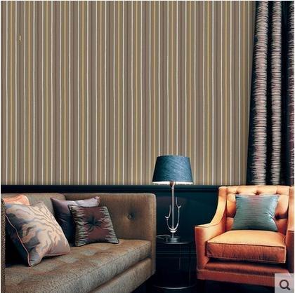 wandtapete Vliestapete Schlafzimmer TV Stereo-Streifen Tapete Tapete Tapeten , 750305 black grey