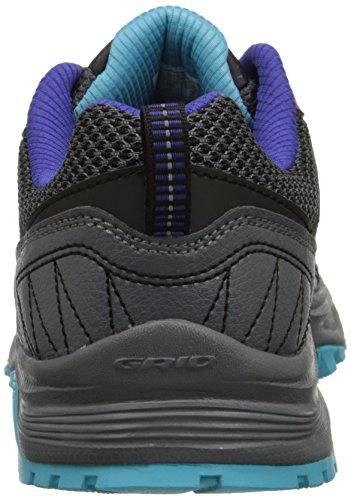 Saucony Women's Excursion Tr9 Road Running Shoe, Blue/Black/Red, 10 M US Grey/Blue