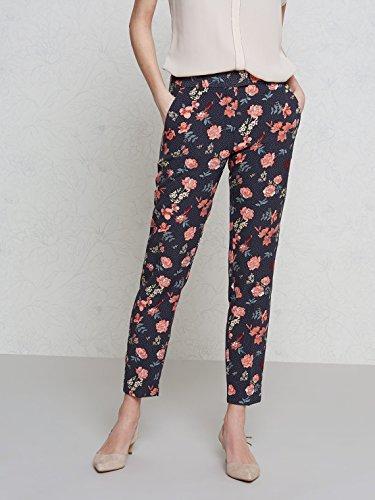 Oltre: Pantaloni modello sigaretta, gamba stirata (Italian size) Blu
