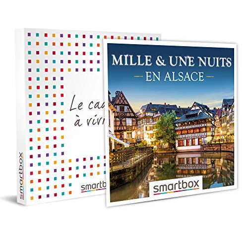SMARTBOX - Coffret cadeau - Mille & une nuits en Alsace - idée cadeau - 1 nuit avec...