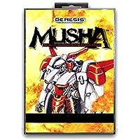 Jhana Musha avec boîte pour carte de jeu Sega MD 16 bits pour Mega Drive pour console vidéo Genesis