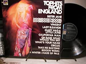 TOPHITS FROM ENGLAND - SUNSET - VINYL