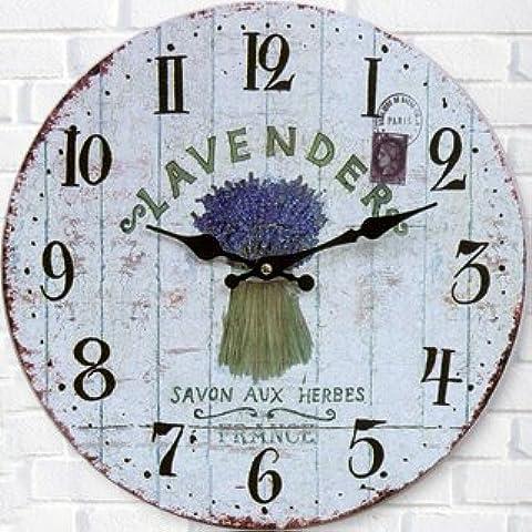 CLG-FLY silencio creativo relojes de cuarzo de moda gráficos murales ronda el reloj#24