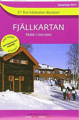 Are / Valadalen / Bydalen 2014 par  (Carte - Nov 1, 2014)