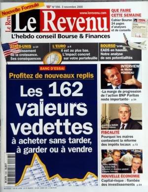 revenu-le-no-594-du-03-11-2000-les-162-valeurs-vedettes-etats-unis-leuro-bourse-eads-en-hausse-m-peb