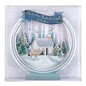 hallmark luxus weihnachtskarten 3d design 5 karten 1. Black Bedroom Furniture Sets. Home Design Ideas