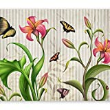 murando - Fotomural Abstraccion 150x105 cm - Papel tejido-no tejido - Papel pintado - Flores Vintage 10110906-141