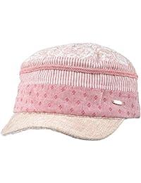 Kenmont mujeres del verano de la señora cadete gorra militar visera del algodón del sombrero del sol