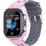 Barn Smart Watch Q16 Vattentät Wrist Game Smartwatch Plats Tracker med kamera väckarklocka SOS för pojkar flickor rosa enkelt