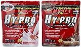 All stars Hy-Pro 85 Beutel 2er Mix Pack (2 x 500 g) Erdbeere/Schoko-Nuß, 1er Pack (1 x 1 kg)
