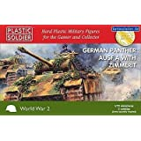 Plastic Soldier 1/72 German Panther Ausf A With Zimmerit # WW2V20011 by Plastic Soldier Company
